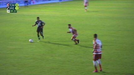 Melhores momentos: Tombense 1 x 2 Vasco pela segunda fase da Copa do Brasil