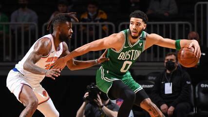 Melhores momentos: Boston Celtics 101 x 99 New York Knicks pela NBA