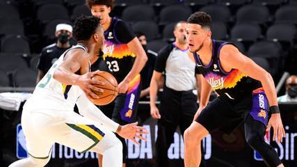 Melhores momentos: Phoenix Suns 117 x 113 Utah Jazz pela NBA