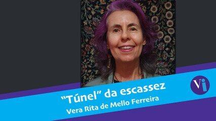 """Túnel"" da escassez"