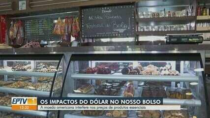 Veja os impactos do dólar no bolso dos brasileiros