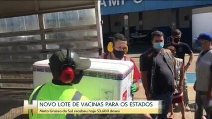 Ministério da Saúde começa a distribuir mais de 4,4 milhões de vacinas contra a Covid