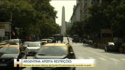 Argentina aperta restrições a partir de hoje para combater recorde de casos de Covid-19