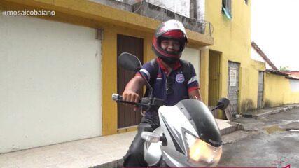 Cresce o número de motogirls na pandemia; conheça a história de uma delas