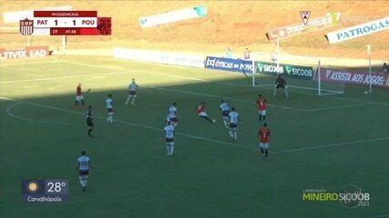 Pouso Alegre empata com o Patrocinense pela 9ª rodada do Campeonato Mineiro