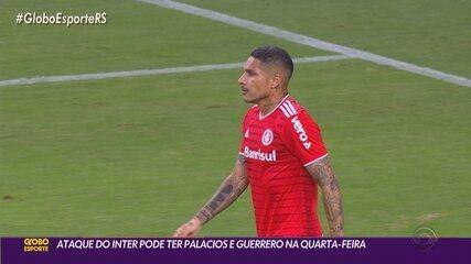 Palacios e Guerrero podem ser as novidades no ataque contra o Aimoré