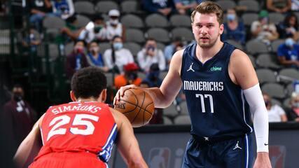 Melhores momentos: Dallas Mavericks 95 x 113 Philadelphia 76ers pela NBA