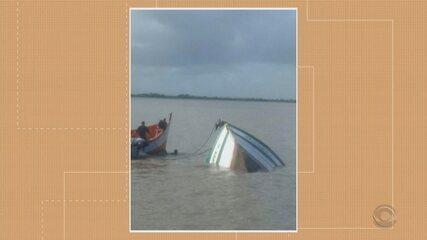 Acidente entre barco de pesca e navio gera transtornos no Porto de Rio Grande