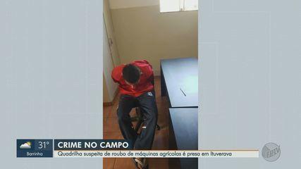 Quadrilha suspeita de roubo de máquinas agrícolas é presa em Ituverava, SP