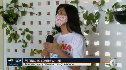 Campanha de vacinação contra gripe começa com atraso em Petrolina