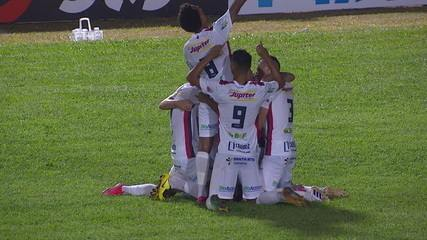 O gol de Cianorte 1 x 0 Santa Cruz pela segunda fase da Copa do Brasil