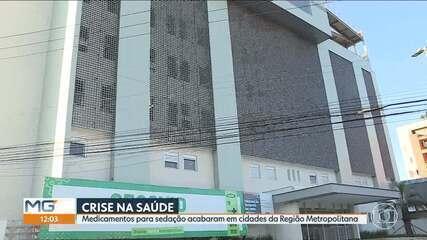5 cidades da região metropolitana têm falta de sedativo ou têm estoque pra poucos dias