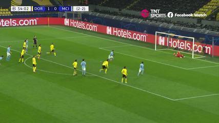 Melhores momentos: Borussia Dortmund 1 x 2 Manchester City, pela Liga dos Campeões
