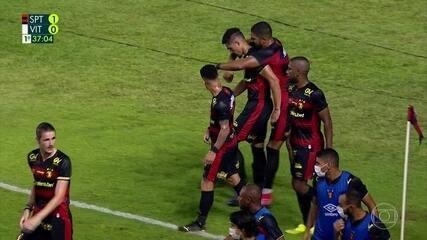 Melhores momentos de Sport 3 x 0 Vitória-PE, pelo Pernambucano