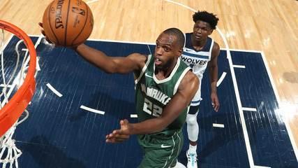 Melhores momentos: Minnesota Timberwolves 105 x 130 Milwaukee Bucks pela NBA
