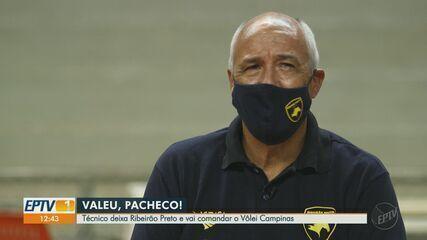Marcos Pacheco deixa o Vôlei Ribeirão e vai comandar o Vôlei Campinas