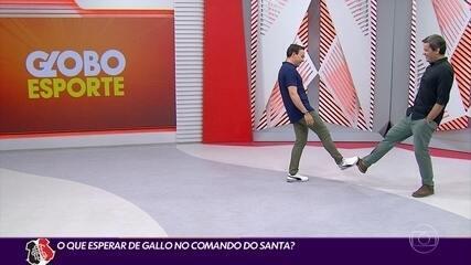 Cabral Neto analisa a contratação de Alexandre Gallo no Santa Cruz
