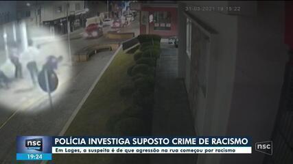 Polícia de Lages investiga agressão e possível caso de racismo