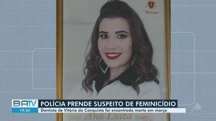 Polícia prende suspeito de matar a namorada em Cândido Sales, no interior do estado