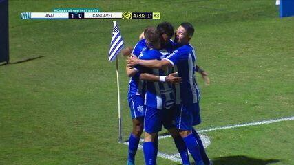 Os gols de Avaí 2 x 0 FC Cascavel pela segunda fase da Copa do Brasil