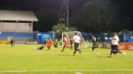 Jailson converte último pênalti e classifica o 4 de Julho sobre o Cuiabá na Copa do Brasil