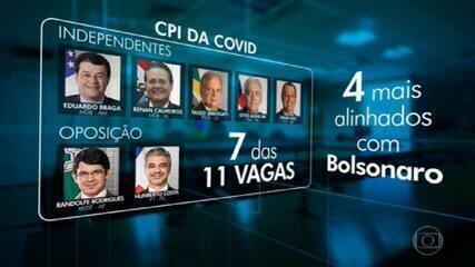 Senadores fecham acordo para escolher presidente e relator da CPI da Covid