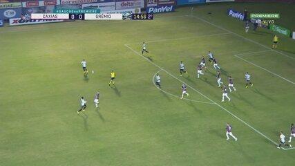 Veja os melhores momentos de Caxias 0x0 Grêmio, pela 1ª rodada do Gauchão
