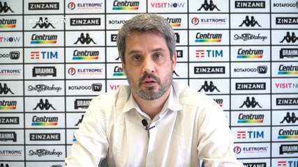 Diretor do Botafogo fala sobre desempenho da equipe e pede apoio da torcida