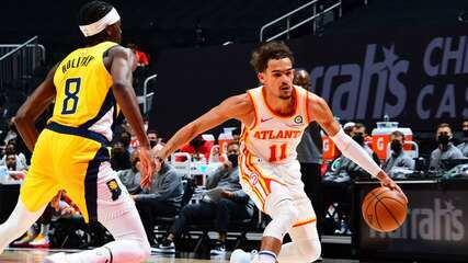 Melhores momentos: Atlanta Hawks 129 x 117 Indiana Pacers pela NBA