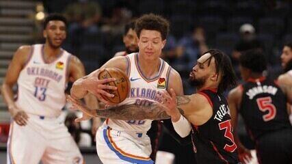 Melhores momentos: Toronto Raptors 112 x 106 Oklahoma City Thunder pela NBA
