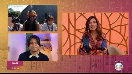 Valdelice Verón e Cristian Wariu explicam termos que devem ser usados para se referir aos indígenas