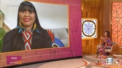 Thaline Karajá conta como foi representar os povos indígenas no 'The Voice Brasil'