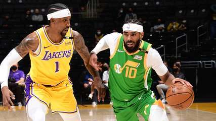 Melhores momentos: Los Angeles Lakers 97 x 111 Utah Jazz pela NBA
