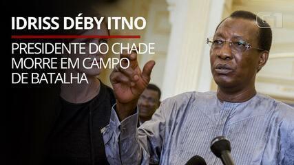 VÍDEO: Morre Idriss Déby Itno, presidente do Chade, em campo de batalha