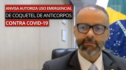 VÍDEO: Antonio Barra Torres afirma que produtos aprovados contra Covid 'são seguros'