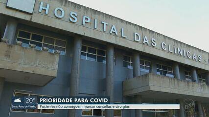 Pandemia de Covid-19 atrasa cirurgias de pacientes com outras doenças em Ribeirão Preto