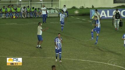 Aliança para o CSA no Estádio da Ufal