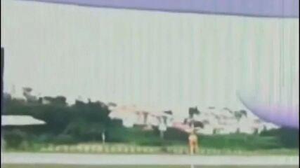 Vídeo mostra avião pouco antes do acidente no Aeroporto da Pampulha