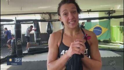 Amanda Ribas se prepara para próxima luta do UFC mesmo durante o feriado