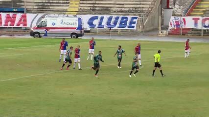 Veja os gols de Paraná 2 x 2 Maringá, pelo Paranaense