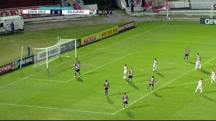 Melhores momentos: Santa Cruz 0 x 0 Salgueiro, pela 7ª rodada do Campeonato Pernambucano