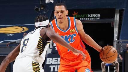 Melhores momentos: Indiana Pacers 122 x 116 Oklahoma City Thunder pela NBA