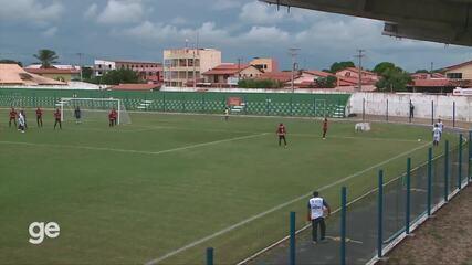 Os gols de Parnahyba 3 x 1 Flamengo-PI pela 9ª rodada do Campeonato Piauiense