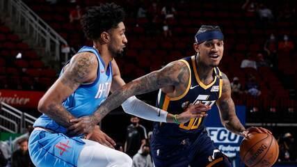 Melhores momentos: Houston Rockets 89 x 112 Utah Jazz pela NBA