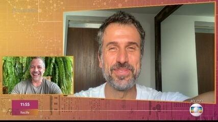 Eriberto Leão manda recado para amigo Malvino Salvador