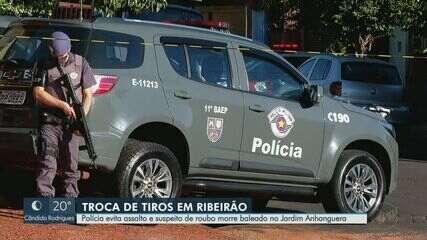 Suspeito de agredir e tentar roubar idosos morre baleado em Ribeirão Preto