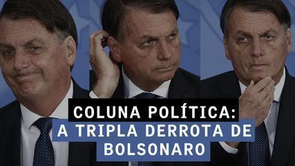 A tripla derrota de Bolsonaro