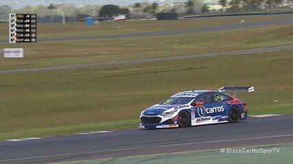 Cacá Bueno faz a pole position da etapa de Goiânia da Stock Car