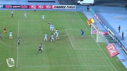 Contra o Macaé, Rickson marcou um dos gols da goleada por 4 a 0