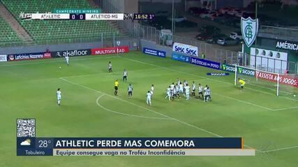 Atlético perde para o Atlético MG em Belo Horizonte, mas avança para a Copa da Inconfidência